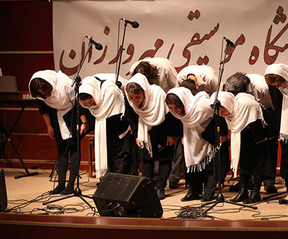 اجرای کنسرت هنرجویان پیانو مهر ۹۶