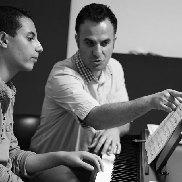 کلاس پیانو