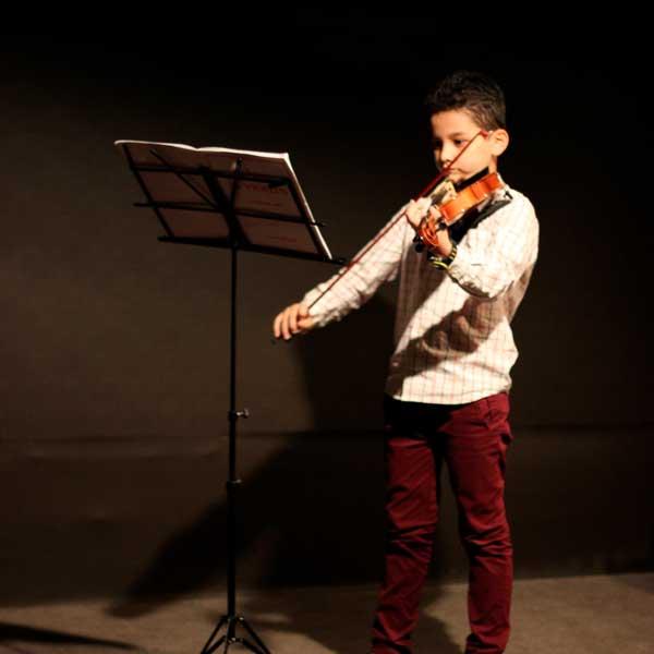 هفته ویولن آموزشگاه موسیقی صدای مهرورزان