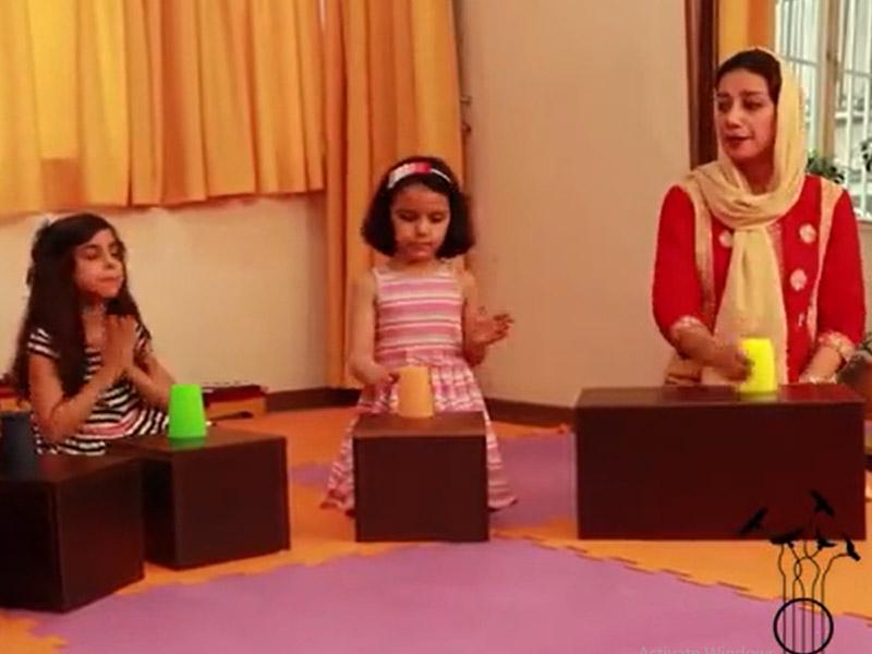 بازی های ریتمیک کلاس کودک