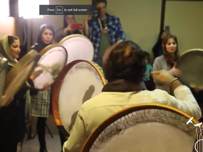 مستر کلاس ارتباط ریتم و رقص در جغرافیای کردستان