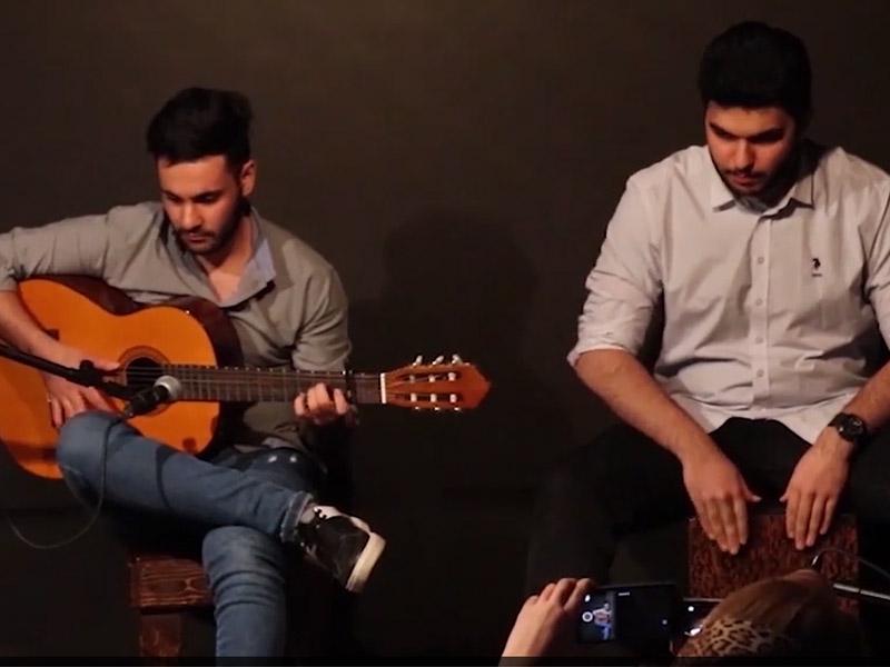 کنسرت پایان ترم هنرجویان گیتار صدای مهرورزان ۱۷ بهمن ۲