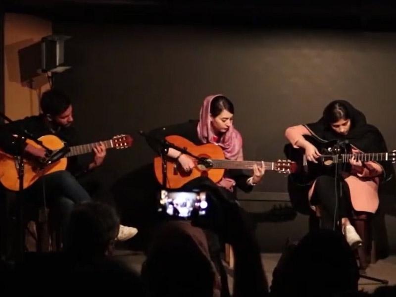 کنسرت گیتار صدای مهرورزان ۲