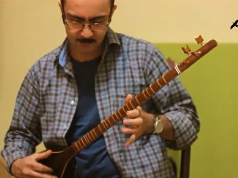 ترکمن استاد حسین علیزاده