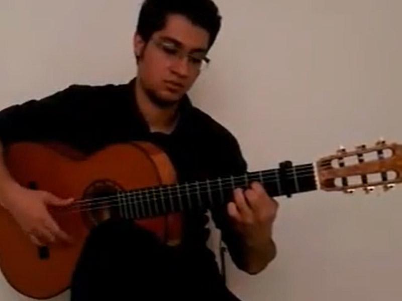 تکنوازی گیتار اریا محمدی
