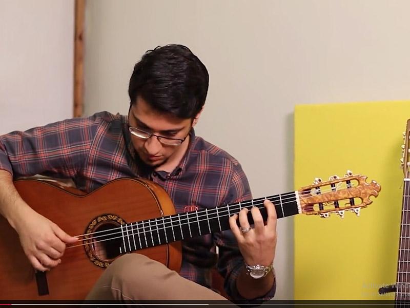 تکنوازی گیتار فلامنکو